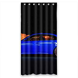 Custom design Eco-Friendly bmw-car Shower curtain, Width * Height / 36 * 72 inch / 91 * 183cm, polyester, best for Decorative