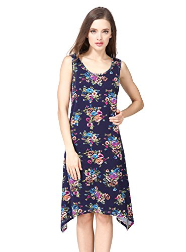 Women Pregnant Maternity and Nursing Dress Multicolor - 1