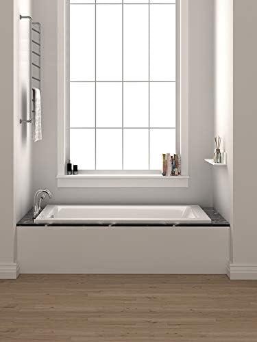 Fine Fixtures Drop In White Soaking Bathtub