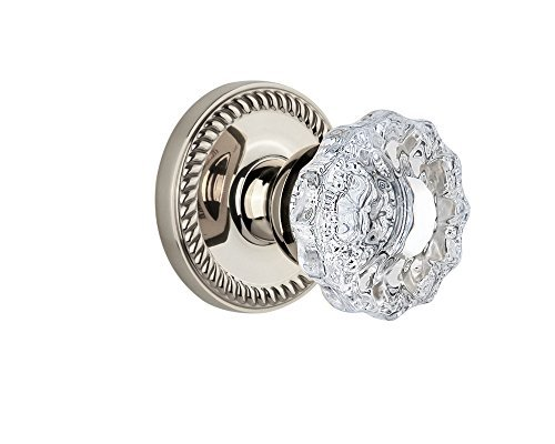 Grandeur Newport Rosette with Versailles Knob, Double Dummy, Polished Nickel by - Versailles Dummy