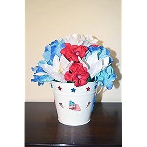 Patriotic Table Decoration Floral Arrangement 32