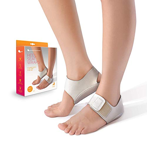 Heel That Pain Heel Seat Wraps for Plantar Fasciitis and Heel Spurs (Large)