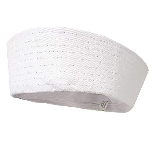 Gilligan Popeye Navy Sailor Gob Hat White Cotton Youth Size]()