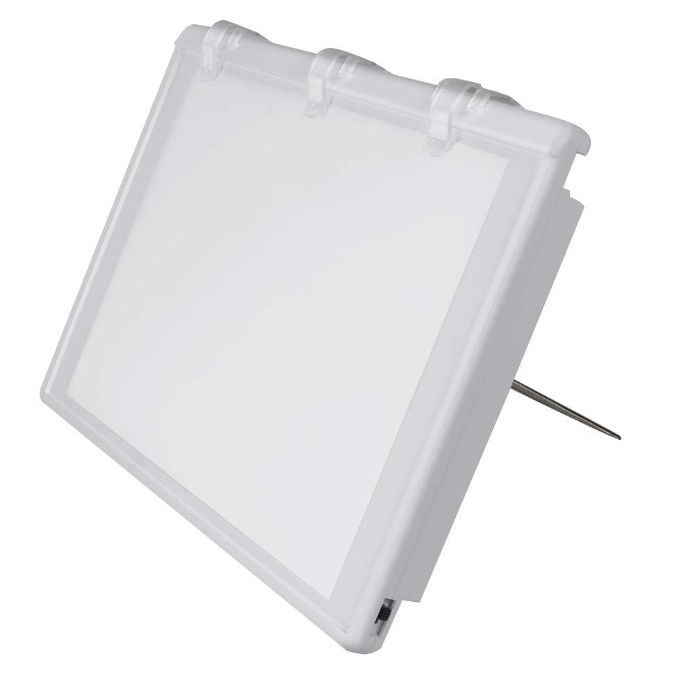 Pevor Dental X-Ray Film Illuminator Light Box X-Ray Viewer Light Panel by Pevor