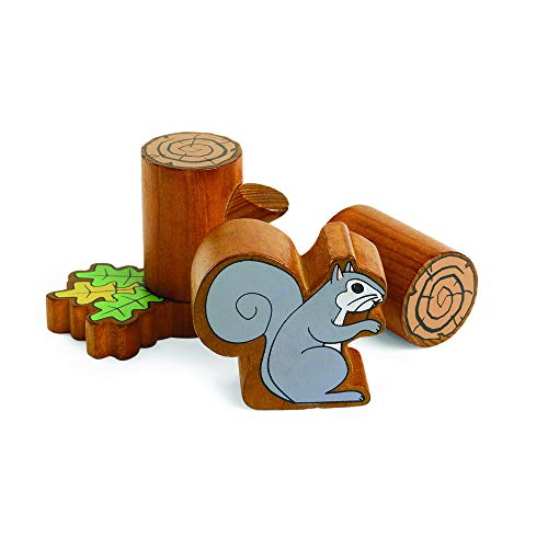Excellerations Tree and Squirrel Blocks Toy for Kids and Young Learners (Set of 46)
