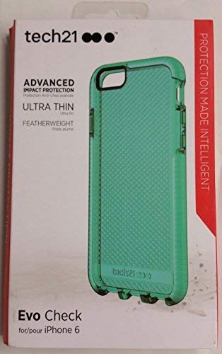 (Tech21 Evo Check iPhone 6/ 6S - Aqua)
