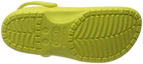 Crocs Unisex Klassiske Træsko Chartreuse MFieTKo