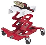 450 Lbs Capacity Low Lift Transmission Jack with Safety C...