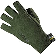 Rapdom Tactical Polar Fleece Half Finger Gloves