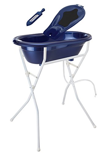 Rotho Babydesign 21036002001 Ideale Badelösung, blau perl