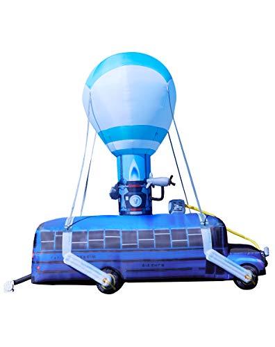 Fortnite Battle Bus Inflatable - 17.5 Ft   OFFICIALLY LICENSED