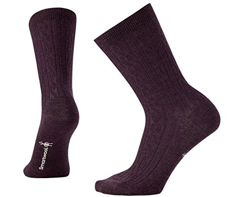 Smartwool Women's Cable II Bordeaux Heather Medium (Bordeaux 2 Drawer)