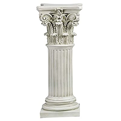 Design Toscano The Corinthian Pillar, Large: Home & Kitchen