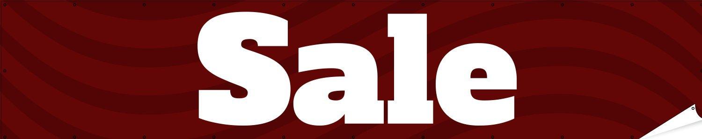 Hem /& Grommets Sale Waves Indoor//Outdoor Banner Digitally Printed