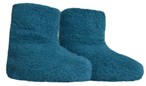De 48 Los Pies Tamaños 25 Zapatillas Lana Azur Azul 100 Samwo 4dxAg8qdw
