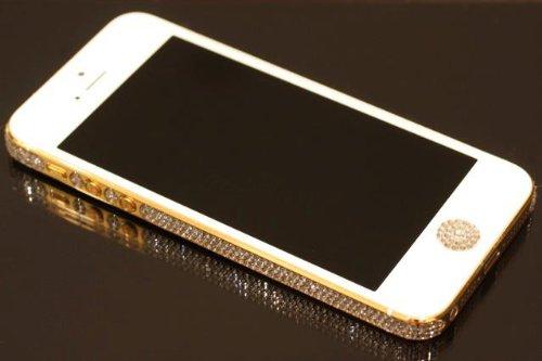 cc48c39113c47 24ct Gold Apple iPhone 5 Swarovski Crystal (Indulge in Gold) Edition ...