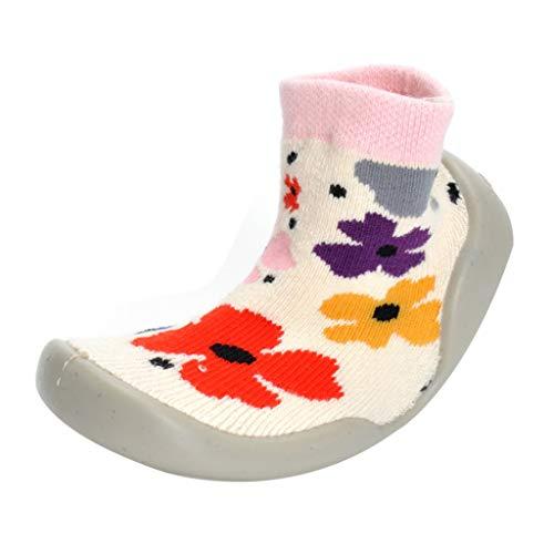 Voberry- Baby Boys Girls Slipper Shoes Anti-Slip Floor Socks Boots Cute Toddlers Infant Winter Cartoon Prewalker Shoes (22/23(12-15Months))