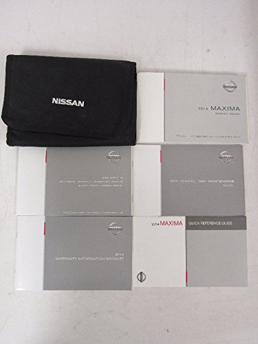 2014 Nissan Maxima Owners Manual Guide Book