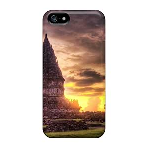 Aimeilimobile99 Iphone 5/5s Well-designed Hard Cases Covers The Lost Hindu Temple In The Jungle Mist Protector