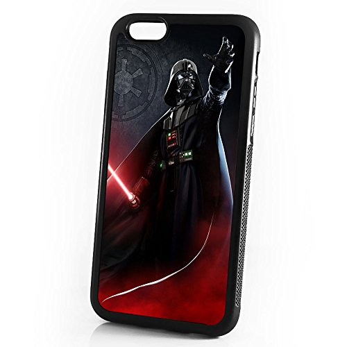 - ( For iPhone 6 / iPhone 6S ) Durable Protective Soft Back Case Phone Cover - A11432 Starwars Darth Vader