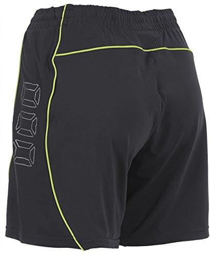 Stanno - Pantaloncini (senza slip interno) da calcio per donna Toronto, colore: Grigio