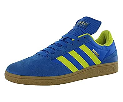 Adidas Busenitz Skate Shoes Bluebird/Lab Lime/Gum Mens Sz 10