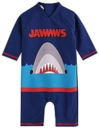 Vaenait Baby 0-24M Baby Boys Swimsuit Rashguard Swimwear Jaws King