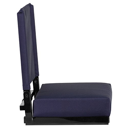 Flash Furniture Game Day Seats by Flash with Ultra-Padded Seat in Navy
