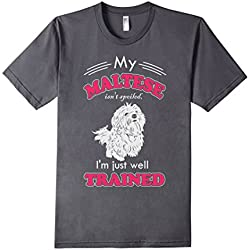 Maltese Dog Lover T-shirts Dogs Fan Gift Cool Quote