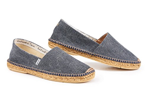 Viscata Mens Sitges Canvas Espadrillas Autentiche E Originali Made In Spain Darkdenim