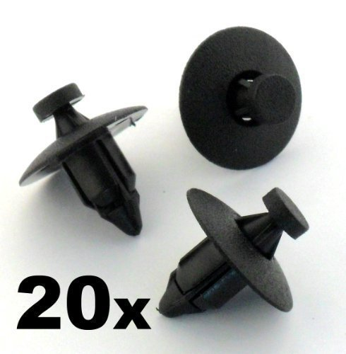 20x Volvo Plastic Rivet Fastener Clips- For trim panels, bumper, fascias, lining - (960 / C30 / C70) - 3541113 - FREE FIRST CLASS UK POSTAGE! by Auto Trim Clips