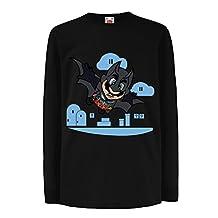 Funny t shirts for kids Long sleeve Superhero !