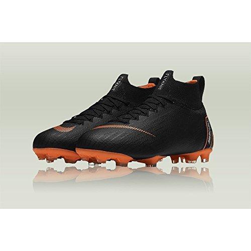 Nike Jr Superfly 6 Elite Fg, Scarpe da Fitness Unisex – Bambini Multicolore (Black / Total Orange-w 081)