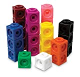 Learning Resources Mathlink Cubes, Educational Counting Toy, Set of 1000 Cubes, Ages 4+
