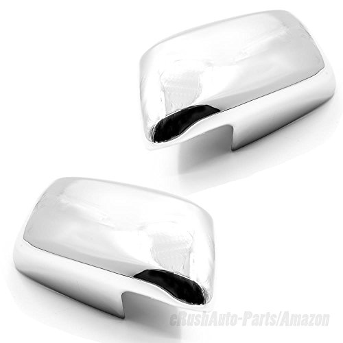 eRushAutoparts Ultra Chrome Mirror Covers For 2005-2018 Nissan Frontier/2005-2015 Nissan Xterra/2005-2012 Nissan PathFinder ()