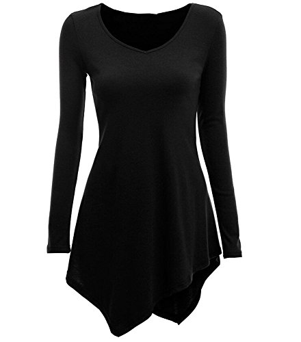 Azyuan - Camisas - para mujer negro