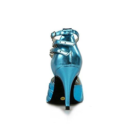 Jazz Minitoo Heel Blue femme 10cm amp; Modern n0wpwdrqY6