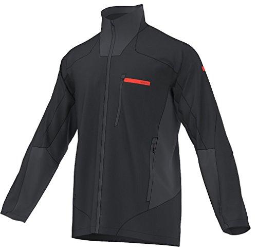 adidas outdoor Men's Terrex Hybrid Jacket M, Dark Grey