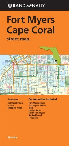 Rand Mcnally Ft. Myers/Cape Coral, Fl Street Map (Rand Mcnally Street Map) by Rand McNally (2013-05-18)