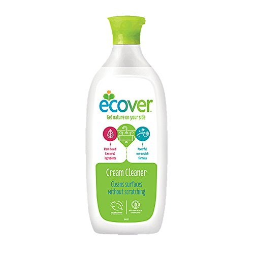 Ecover Cream Non-Scratch Cleaner (500ml) - Pack of 2