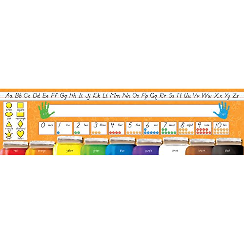 (NORTH STAR TEACHER RESOURCE Desk Plates Modern Manuscript Learning Aid )
