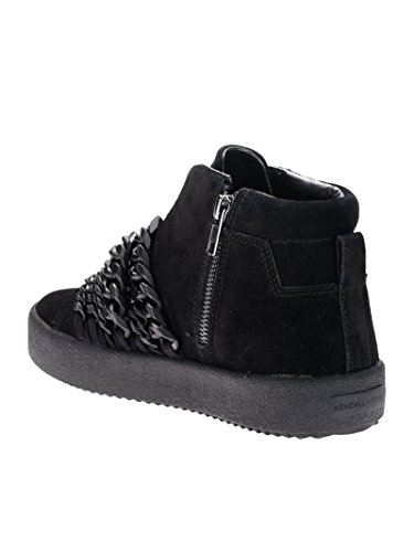 and Kylie Donna Top KKDUKE01 Camoscio Nero Hi Kendall Sneakers CRvwdRq