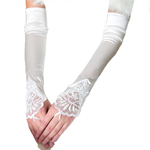 Vimans Womens Fingerless Bridal Wedding product image