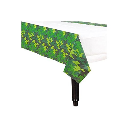 Camouflage Paper Table Cover, Party Favor
