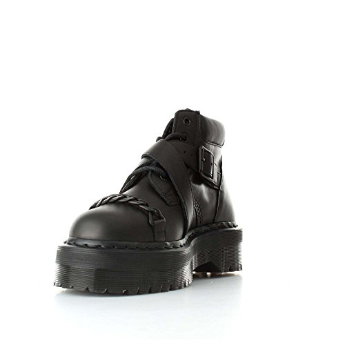 Dr Boots Leather Martens Noir Womens Beaumann BxaBwrq