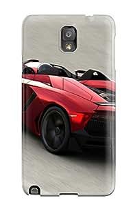 Galaxy Note 3 Lamborghini Aventador J 16 Print High Quality Tpu Gel Frame Case Cover