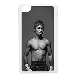 iPod Touch 4 Case White he32 pacquiao boxing hero sports I3S4HL