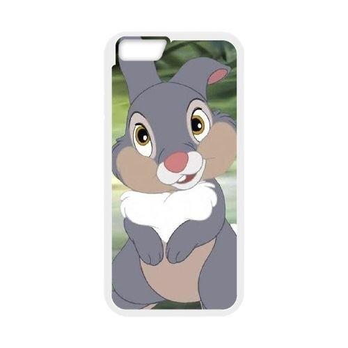 Bambi coque iPhone 6 Plus 5.5 Inch Housse Blanc téléphone portable couverture de cas coque EBDOBCKCO10739