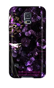 Fashion Tpu Case For Galaxy S5- A Softer World Trigger Warning Defender Case Cover