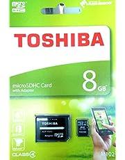 توشيبا بطاقة ذاكرة متوافقة مع هواتف خلوية - بطاقات مايكرو اس دي ذات سعة عالية - M102